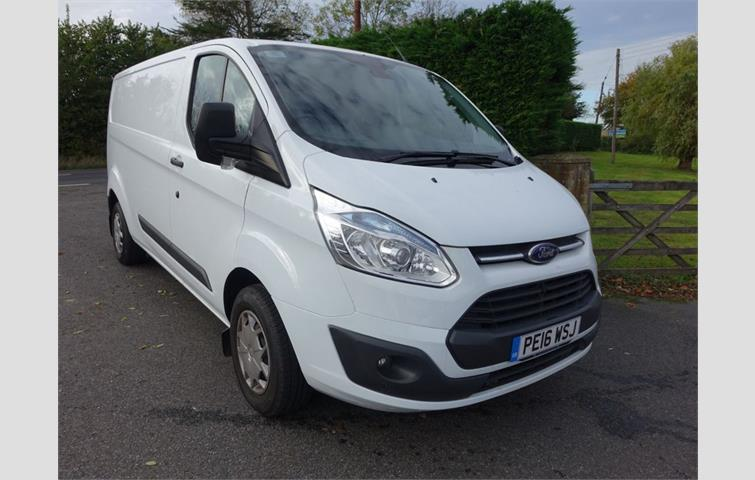 22dcfe861d FORD TRANSIT 290 L2H3 125ps TREND Panel Van White 2016