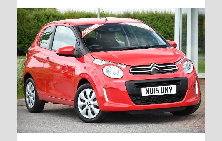 Citroen C1 10 Vti Feel Red 2015 5912071