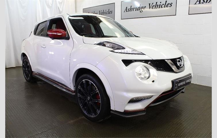 Nissan Juke 1 6 Digt Nismo Rs Mxtronic 4wd 5dr White 2017 Ref 5961310