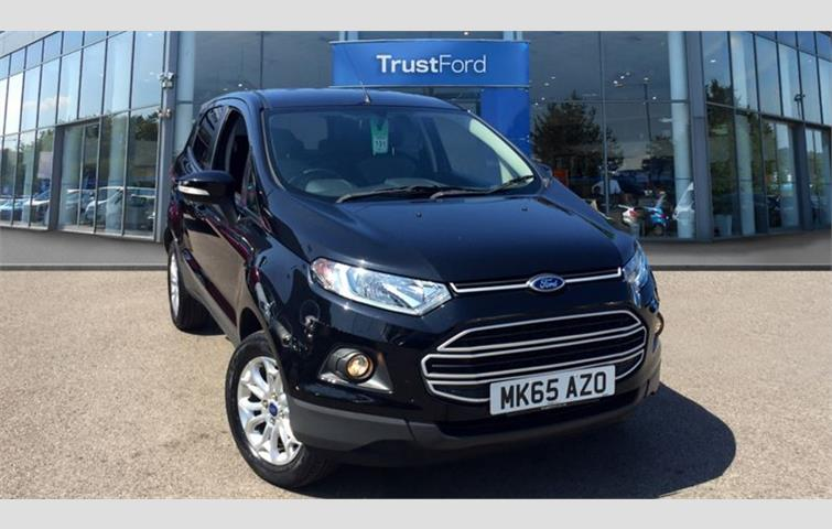 Ford Ecosport  L Engine With Manual Transmission Hatchback In Black Colour With
