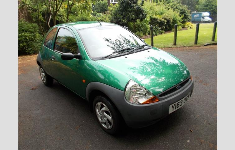 Model Ford Ka Colour Green Year