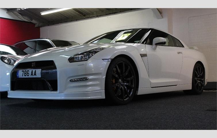 Make: Nissan, Model: Gt R, Colour: White, Year: Manufacturing Year. 2012