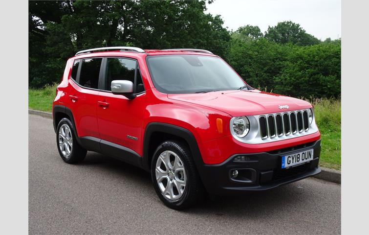 Red Jeep Renegade >> Jeep Renegade 1 4 Petrol Limited Red 2018 Ref 6044706