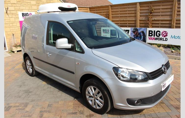 854bf88547 VOLKSWAGEN CADDY C20 TDI 102 HIGHLINE FRIDGE WITH OVERNIGHT Silver ...