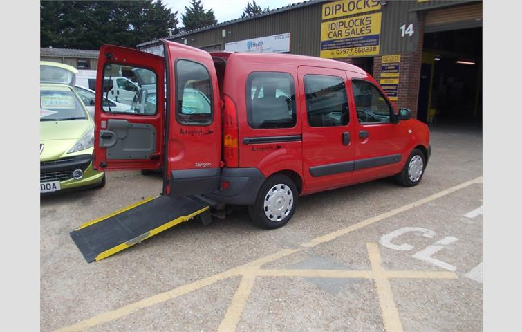 Renault Kangoo Authentique Dci Red 2006 6063614