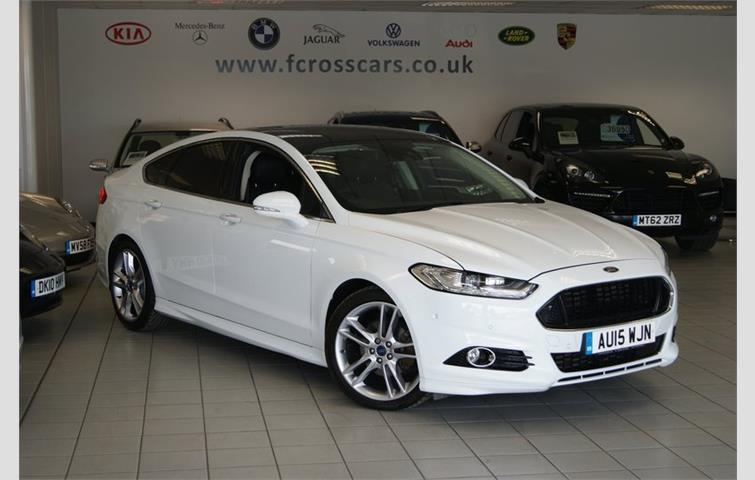 Ford Mondeo 2015 White >> Ford Mondeo Titanium Tdci Huge Specification White 2015 Ref 6074197
