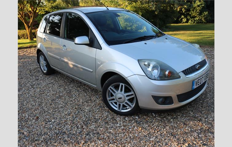 Ford fiesta ghia 16v silver 2007 6077247 for Ford motor credit bad credit