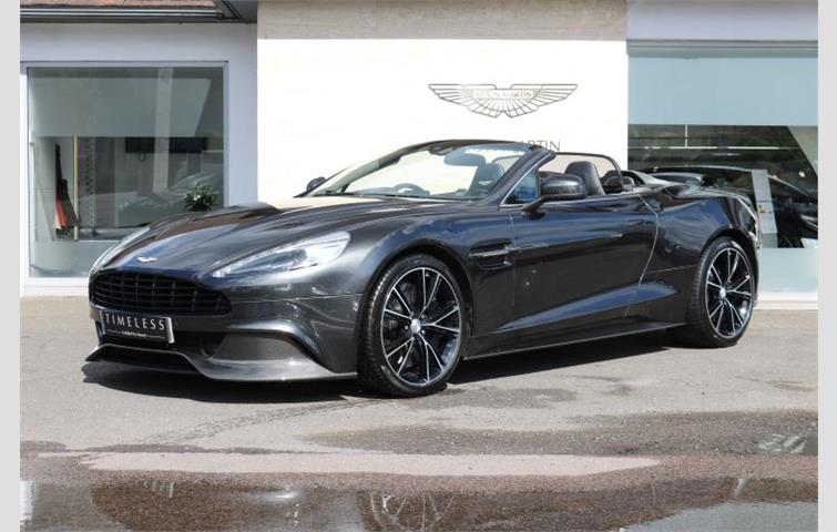 aston martin vanquish v12 568 2dr volante touchtronic grey 2016