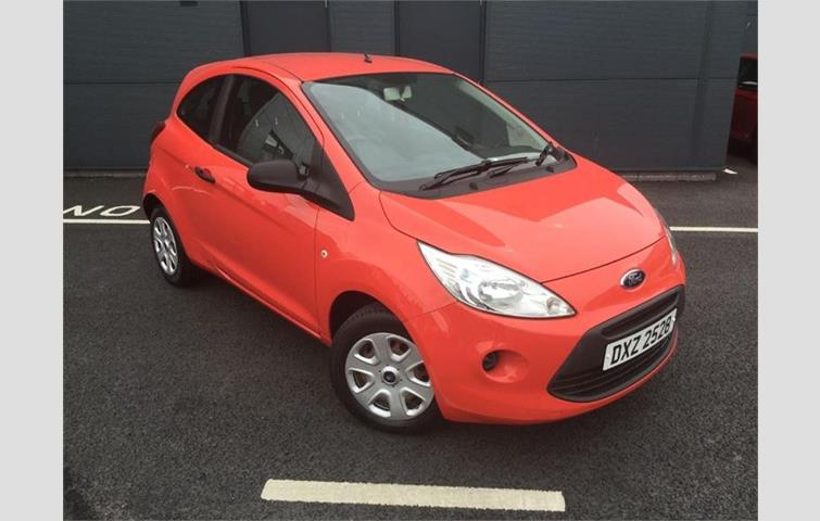 Ford Ka  With Manual Transmission Hatchback In Red Colour With  Miles On