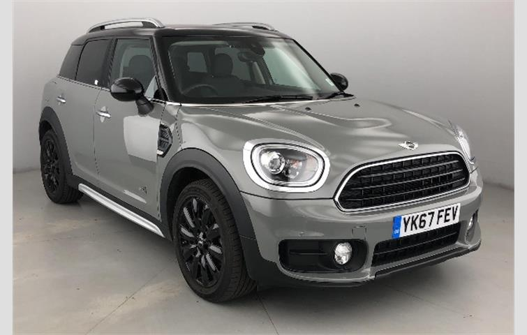 Mini Countryman 2017 1 5 L Petrol Engine With Manual Transmission Hatchback In Grey Colour