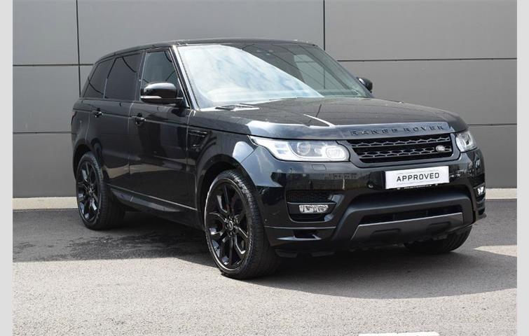 Land Rover Range Sport 2017 Sel Engine With Automatic Transmission Estate In Black