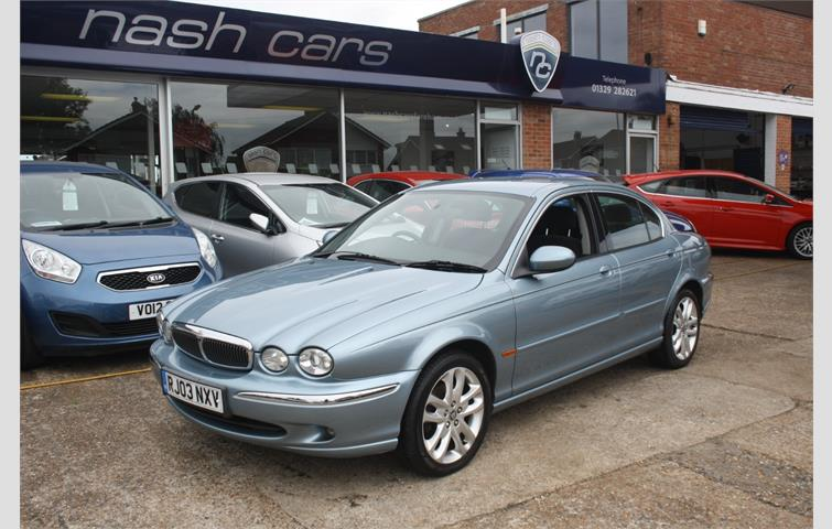 Jaguar X Type 2003, 2.1 L With Manual Transmission, Saloon In Blue Colour