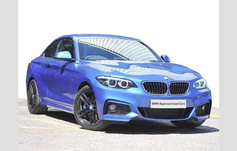 Bmw 2 Series 220i M Sport Coupe Blue 2018 Ref 6133756