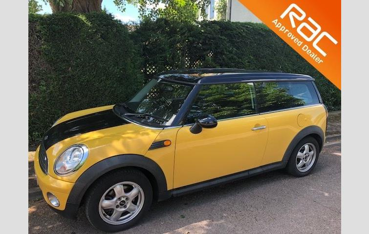 Mini Clubman 16 Cooper 5dr Pepper Pack Yellow 2008 Ref 6156355
