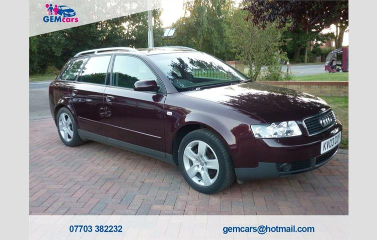Audi A4 2003 19 L Diesel Engine With Manual Transmission Estate In Red Colour