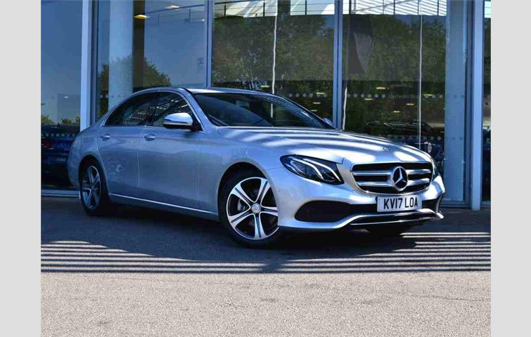 Mercedes E Cl 2017 2 0 L Sel Engine With Automatic Transmission Saloon In Silver