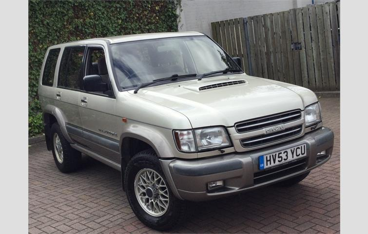 isuzu trooper 3.0 td citation 4x4 5dr 7 seat 2003 | ref: 6206906