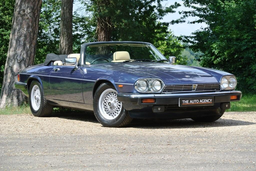 Make: Jaguar, Model: Xjs, Colour: Blue, Year: 1990, Jaguar XJS Convertible  ...