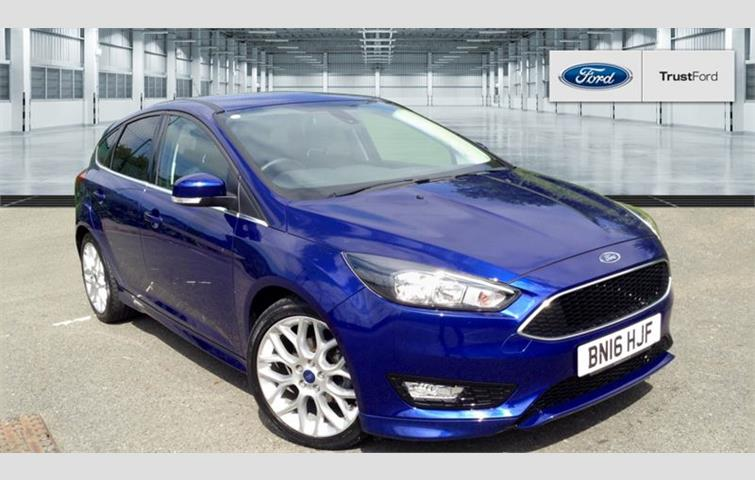 Ford Focus Zetec S Tdci Blue 2016 Ref 6217271