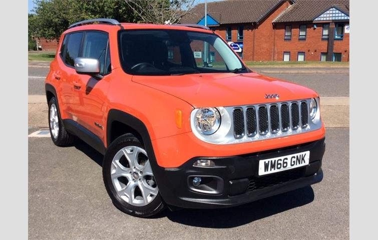 Jeep Renegade Orange >> Jeep Renegade 1 4 Multiair Ii Limited S S 5dr Orange 2017 Ref 6225269