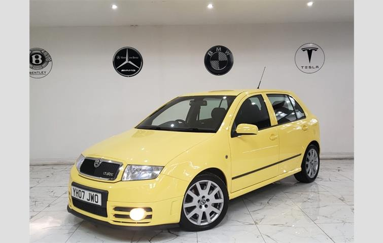 Skoda Fabia 19 Tdi Pd Vrs Special Edition 5dr Yellow 2007 6228943