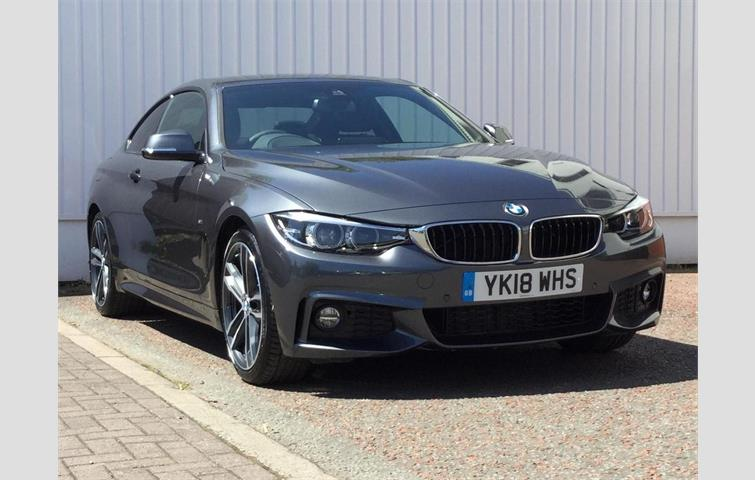 BMW 4 Series 440i M Sport Gran Coupe White 2017
