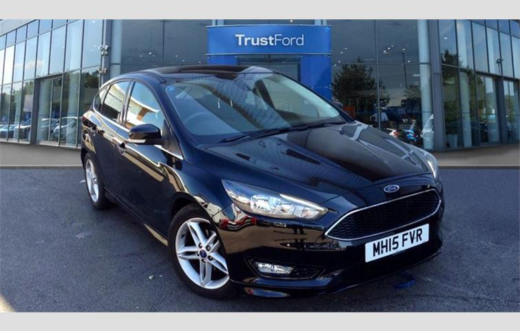 Ford Focus Zetec S Black 2015 Ref 6244781