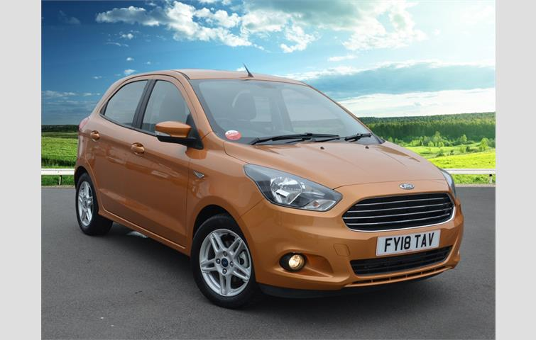Ford Ka  L With Manual Transmission Hatchback In Gold Colour With
