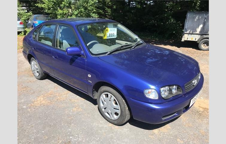 First Choice Auto Finance >> Toyota Corolla 1.6 GS 5dr Blue 2001 | Ref: 6256864