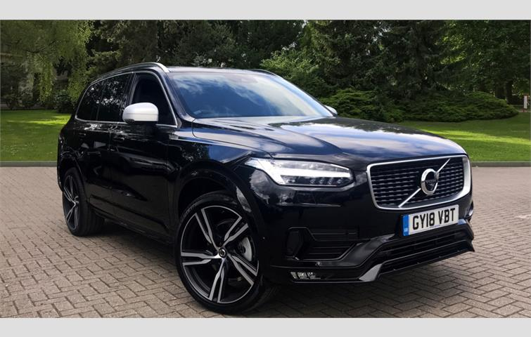 Volvo XC90 D5 PowerPulse R DESIGN Pro AWD Auto Black 2018 | Ref: 6269119