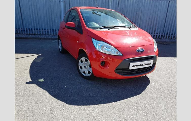 Make Ford Model Ka Colour Red Year