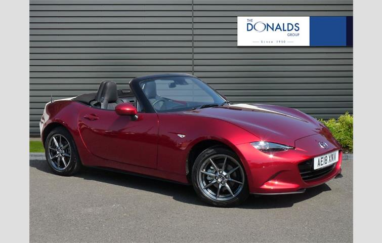 Mazda Mx 5 2018 1 L Engine With Manual Transmission Convertible In Red