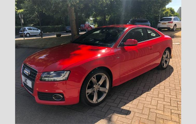 Audi A5 18 Tfsi S Line Special Edition 2dr 158 Bhp Red 2010