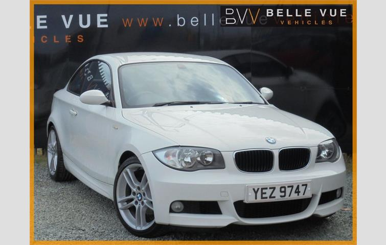 Bmw 1 Series 2009 2 0 L Sel Engine With Manual Transmission Coupe In White
