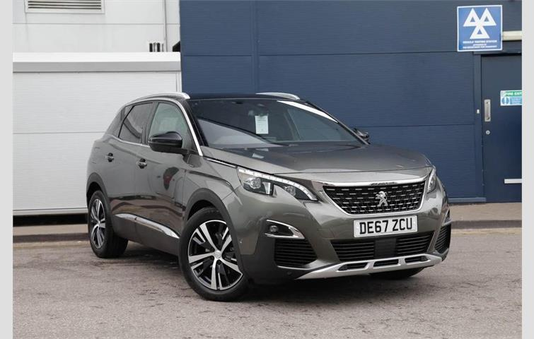Autotrader Used Cars >> Peugeot 3008 1.6 BlueHDi 120bhp GT Line s/s Grey 2018 ...