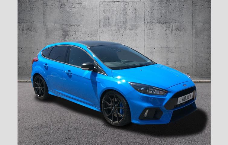 Blue Ford Focus >> Ford Focus Rs 2 3 Ecoboost Edition 5dr Blue 2018 Ref 6284985