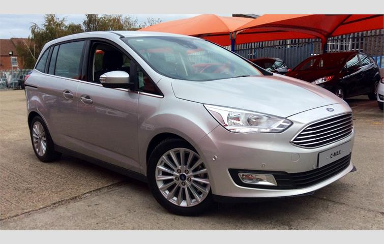 Ford Grand C Max 2018 1 5 L Sel Engine With Automatic Transmission Mpv