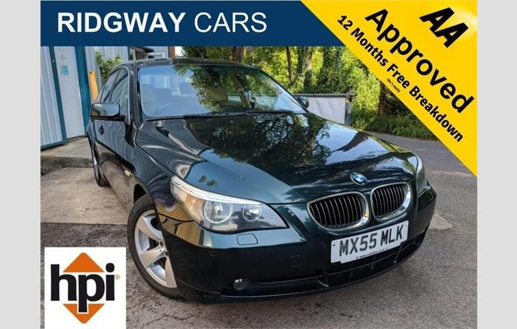 BMW 5 SERIES 523i SE 2 5 4dr Green 2005 | Ref: 6300298