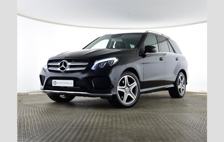 Mercedes Gle 3 0 350 Amg Line 9gtronic 4matic S S 5dr Black 2017