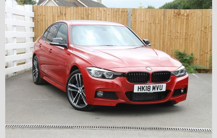 BMW 3 SERIES 320D M SPORT SHADOW EDITION Red 2018 | Ref: 6306265