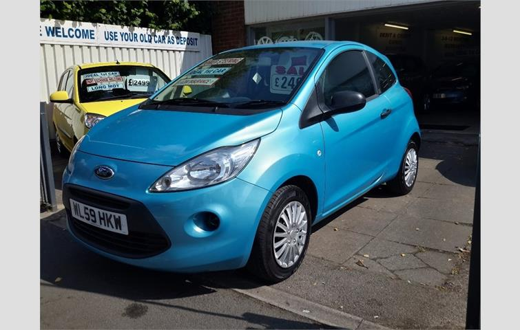 Ford Ka  L With Manual Transmission Hatchback In Blue Colour With