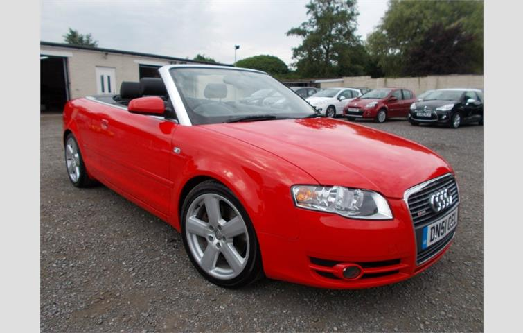 Audi A4 Cabriolet 2 0 Tfsi S Line Mulronic 2dr Red 2006 Ref 6353206
