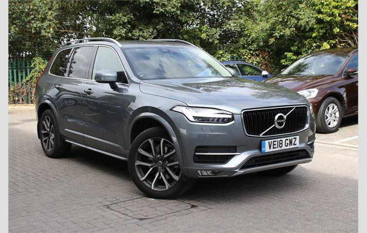Volvo XC90 D5 PowerPulse AWD Momentum Pro Automatic Grey 2018 | Ref: 6359329