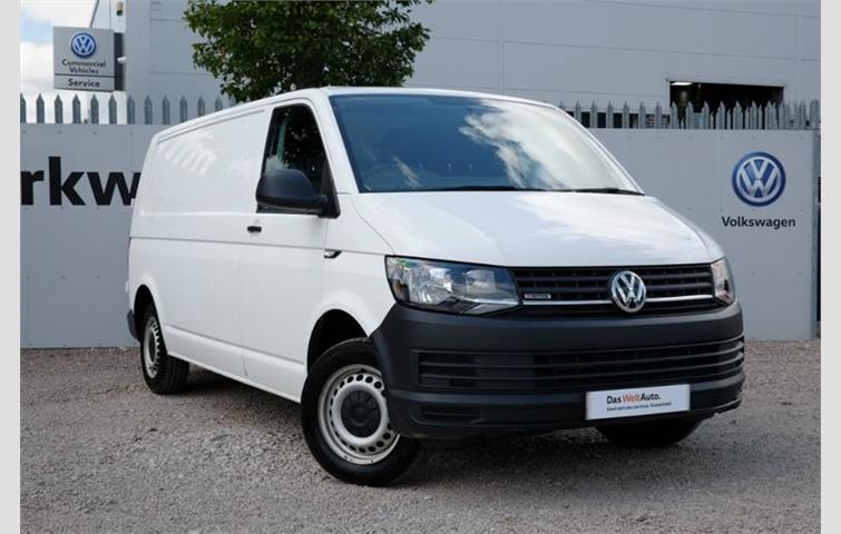 604b2a5691a619 Volkswagen Transporter 2.0 TDI BlueMotion Tech T32 Startline Panel Van  4MOTION 5dr EU6 LWB White 2016