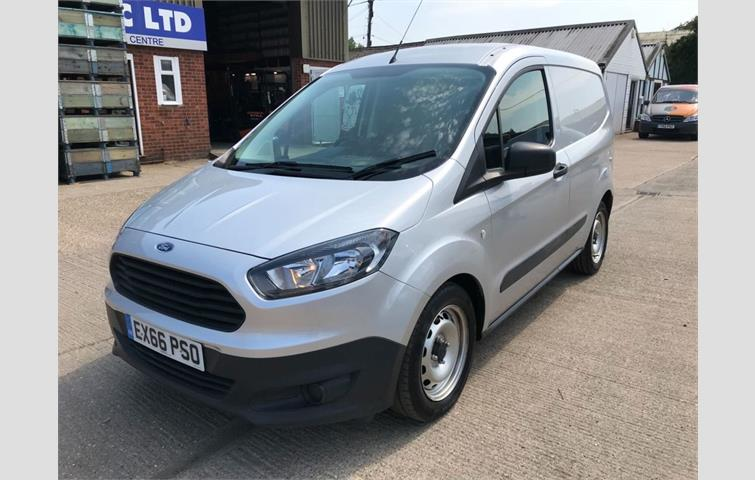 266198f39f FORD TRANSIT COURIER 1.5 BASE TDCI 75 BHP Silver 2016