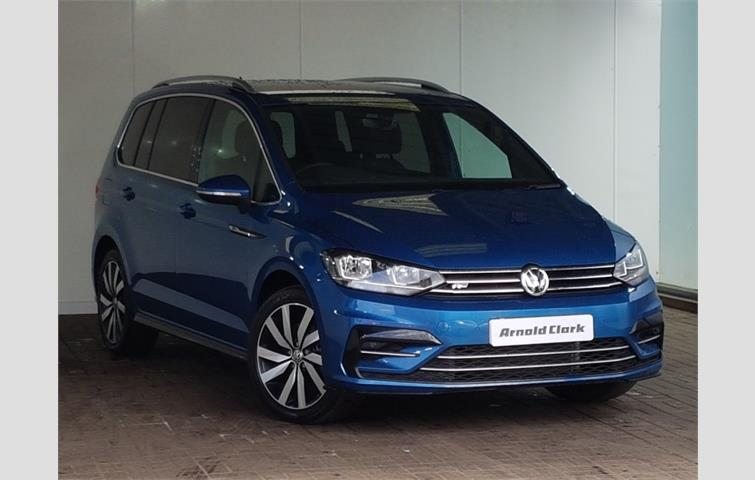volkswagen touran 2 0 tdi r line 5dr blue 2018 ref 6406325. Black Bedroom Furniture Sets. Home Design Ideas