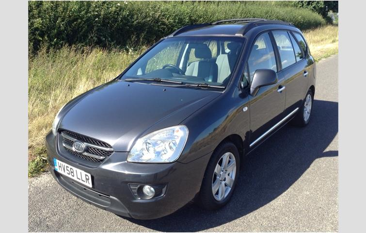 Kia Carens 2 0 Crdi Gs 5dr 7 Seats Grey 2008 Ref 6424197