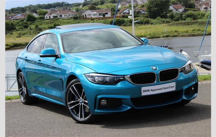 Model Bmw 4 Series Colour Unlisted Year 2018 Mileage