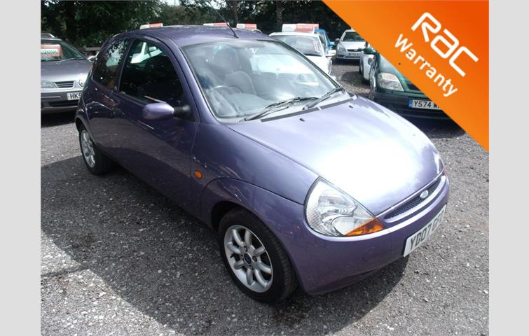 Ford Ka  L Petrol Engine With Manual Transmission Hatchback In Purple Colour