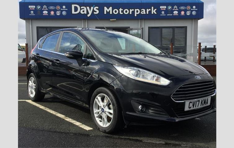 Ford Fiesta 2017 1 2 L Engine With Manual Transmission Hatchback In Black Colour